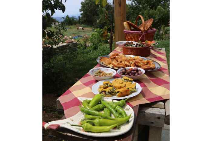 Pelion Things to Do: Pelion Cooking Class for Vegetarians