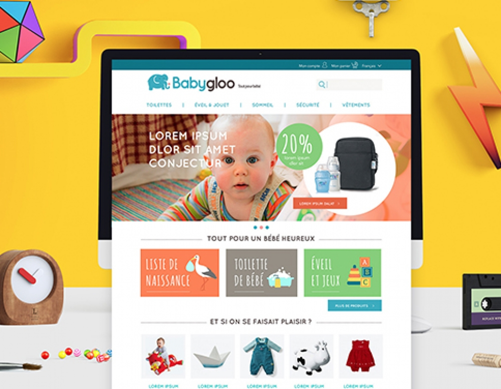 Bet on an amazing webdesign and logo for your brand