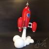fusée rocket déco cartoon