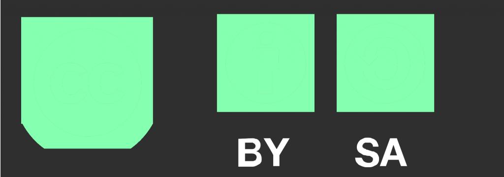 Logo CC BY SA