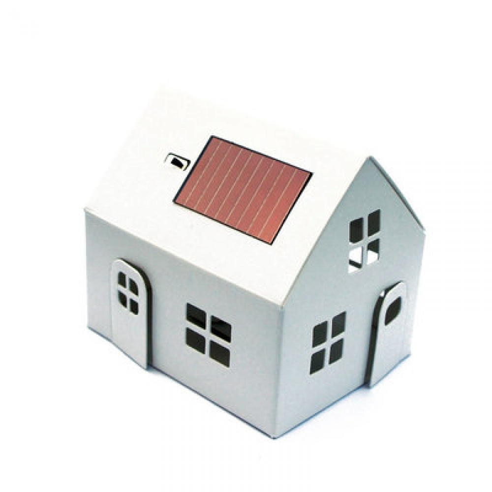 casagami veilleuse solaire en carton en forme de maison. Black Bedroom Furniture Sets. Home Design Ideas