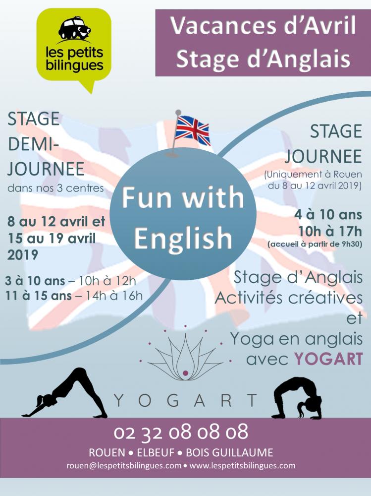 Stage d'anglais de 11 à 15 ans