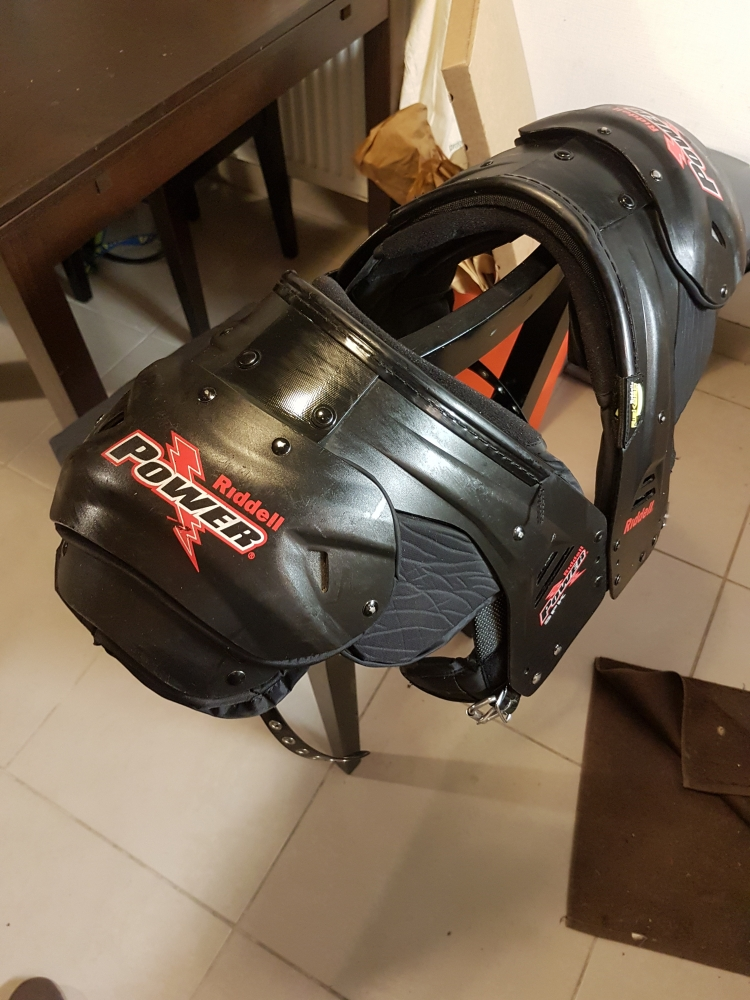 Épaulières RIDDELL POWER SPK RB/DB