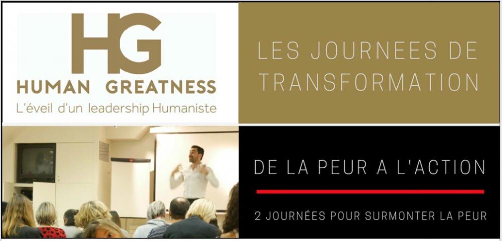 Journée de transformation : de la Peur à L'Action 01/12/2018