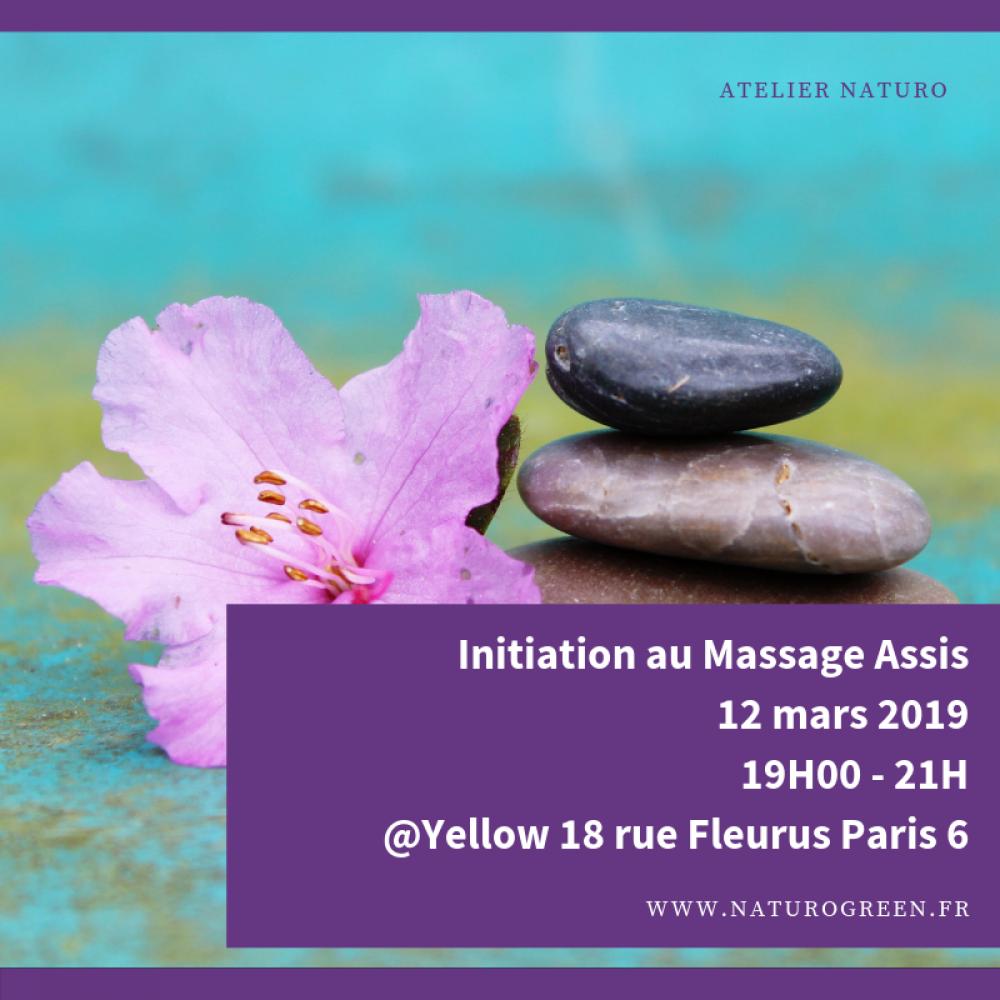 Initiation au massage assis