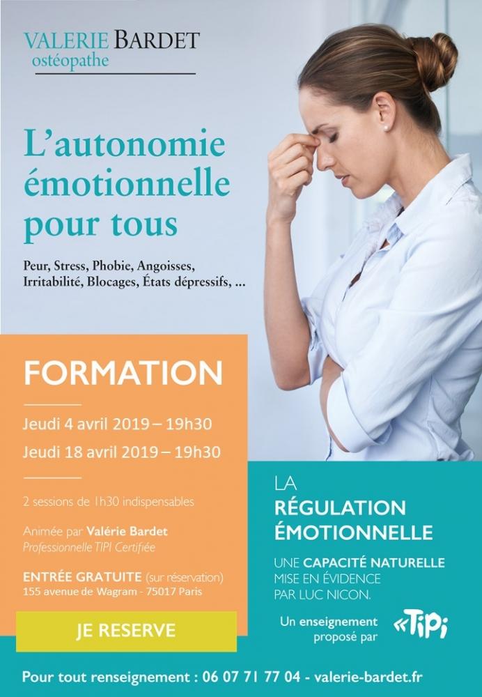 L'autonomie émotionnelle pour tous : formation à la régulation émotionnelle