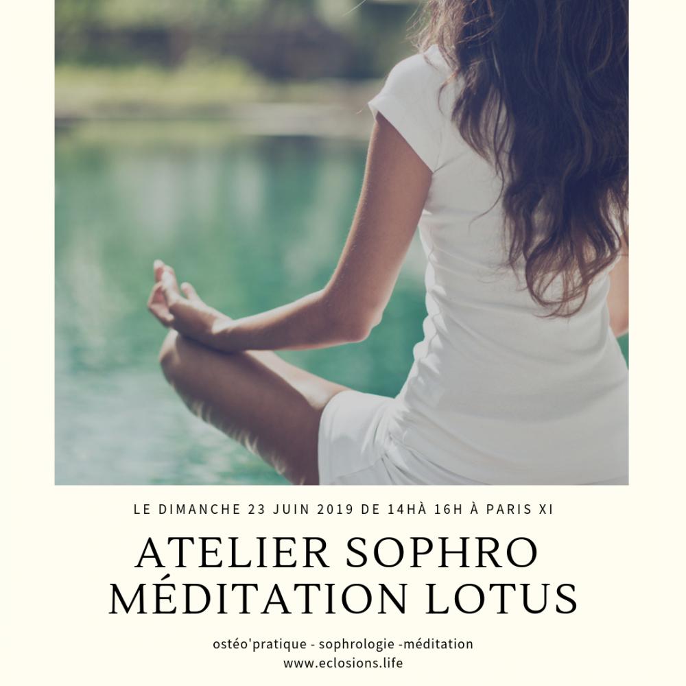 Atelier Lotus ou SophroMéditation
