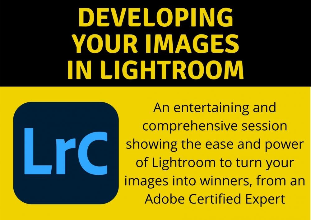Developing images in Lightroom