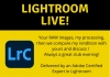 Lightroom Live! Your images, my processing...