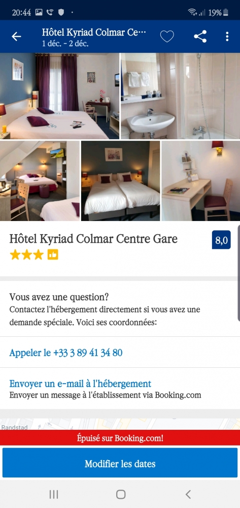 Hotel Kyriad Colmar Centre Gare