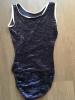 Justaucorps bleu en velours - Taille 0 -PAULINE MOREL