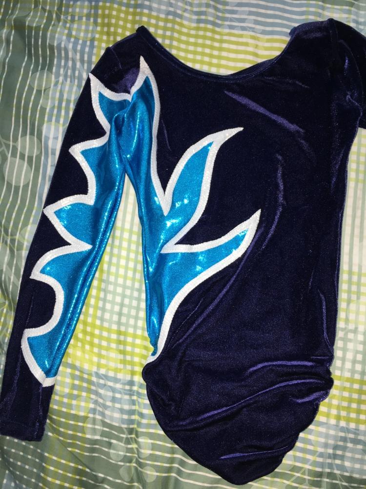 Justaucorps bleu