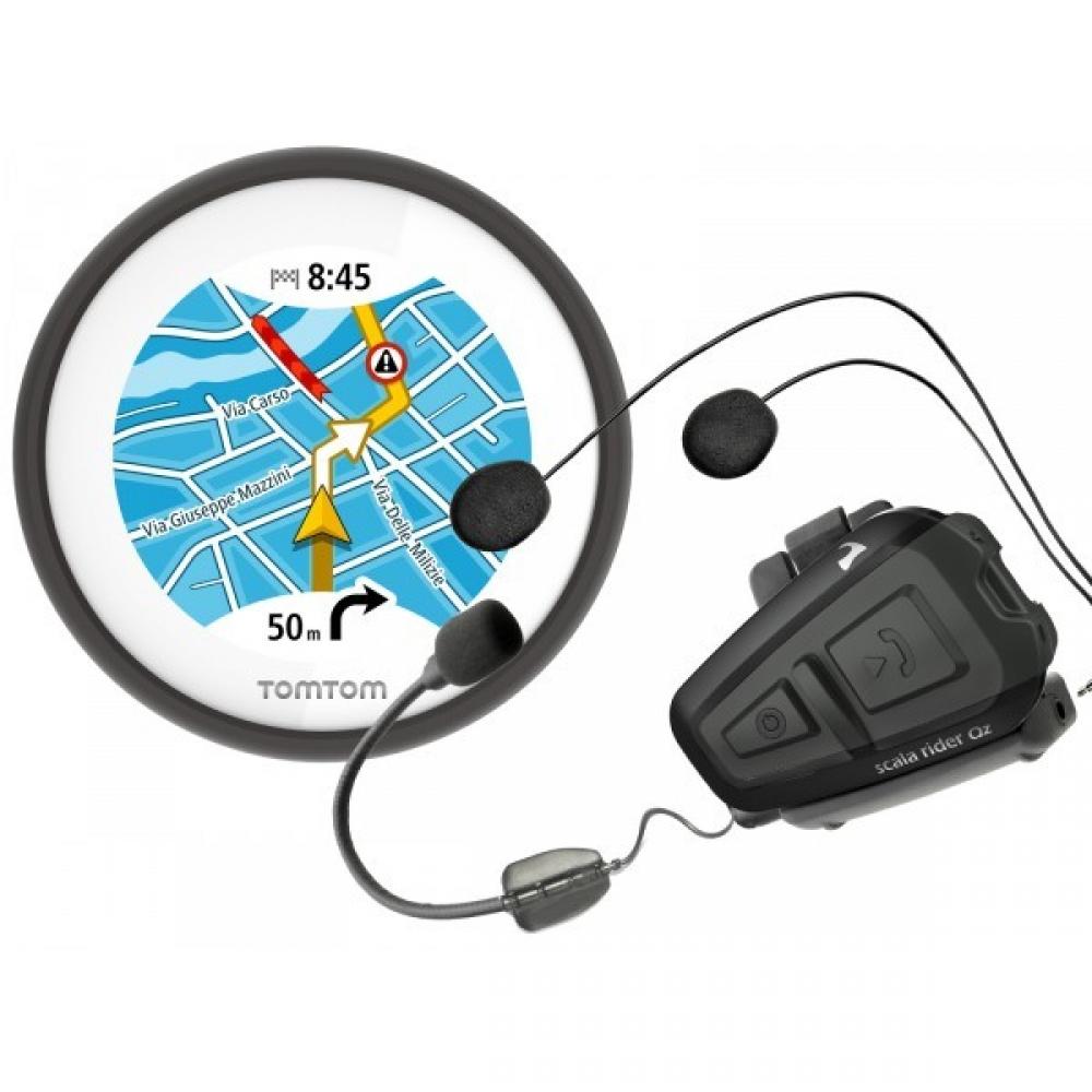 TOMTOM - GPS VIO + SCALA RIDER QZ