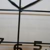 Horloge factory ronde grillagée