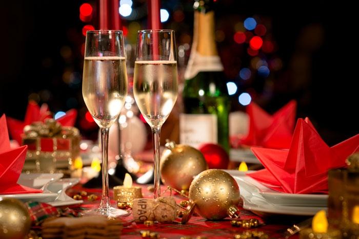 Dîner de Noël au Restaurant Le Bouchon by Marc Hammani