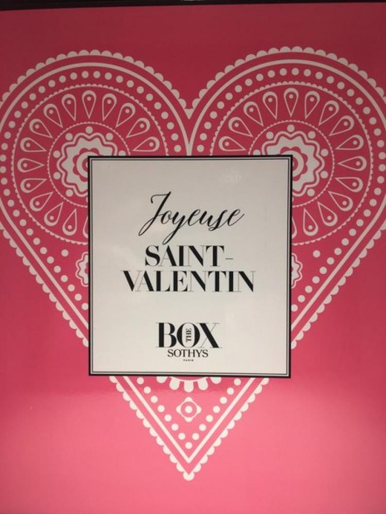 Coffret beauté Sothys spécial St Valentin