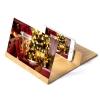 Amplificateur d'écran smartphone - bois gold
