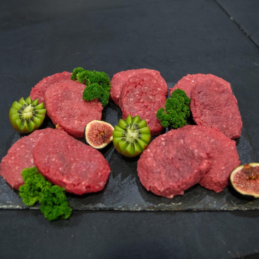 10 steaks hachés en Aubrac