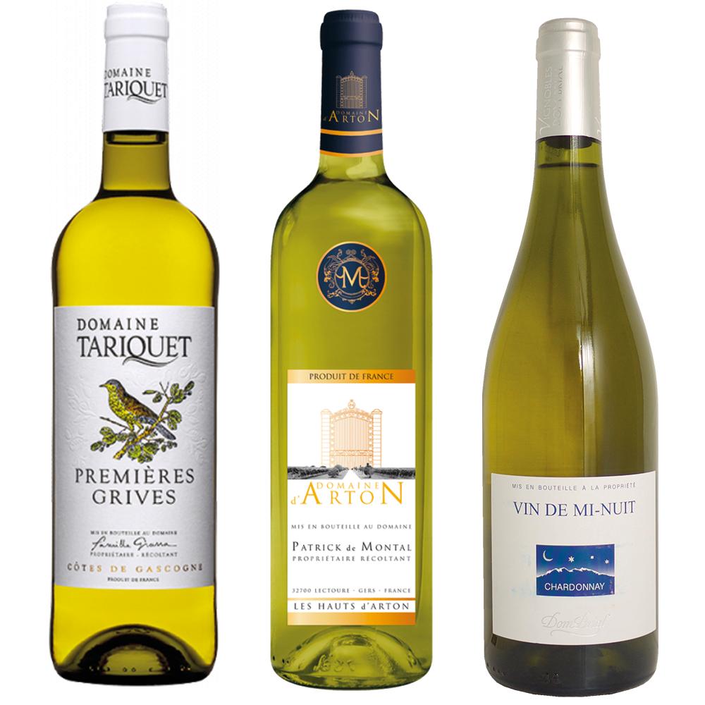 Colis découverte vins blancs