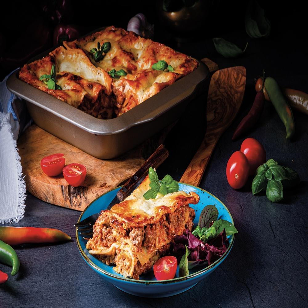 Barquette de lasagne maison prêt à cuire