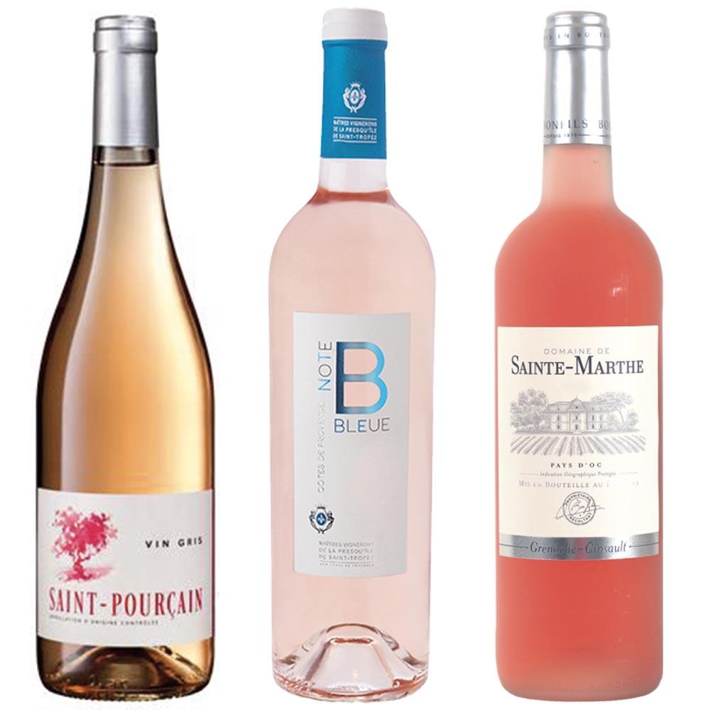Colis découverte vins Rosés