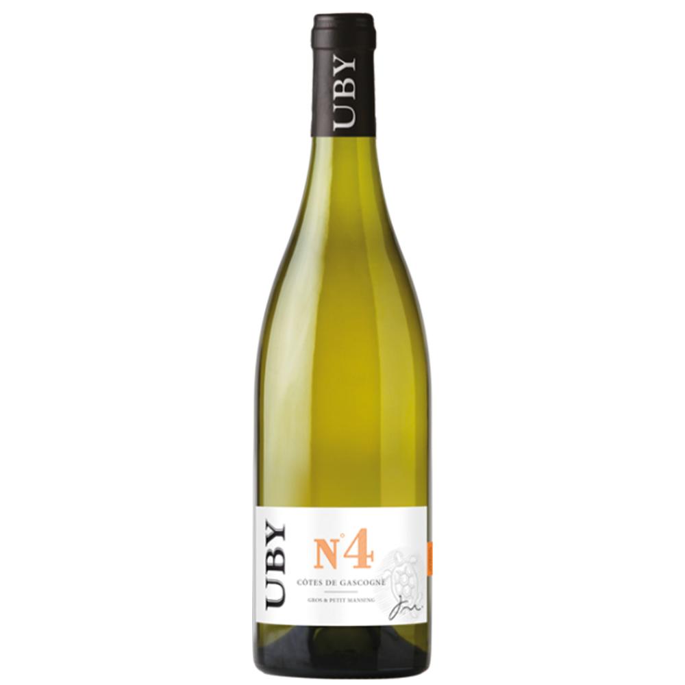 Carton de 6 bouteilles de vin blanc UBY N°4