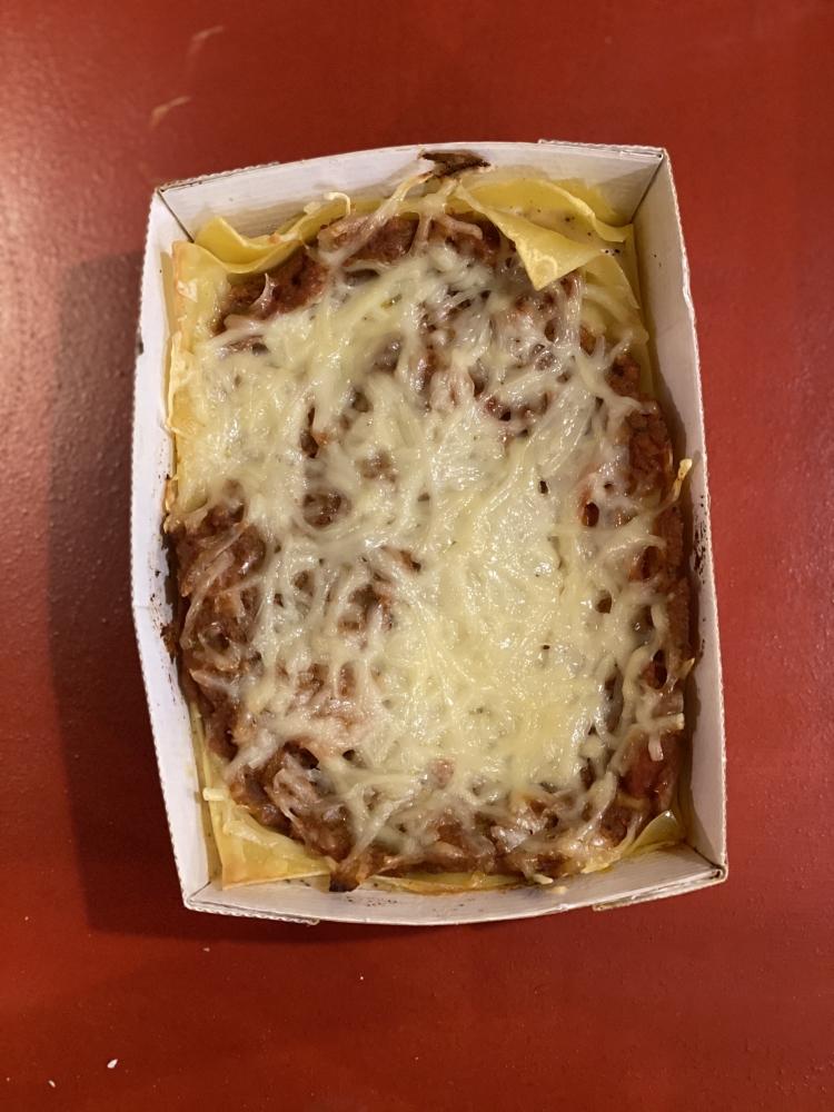 Lasagne bolognaise  pour 1 personne