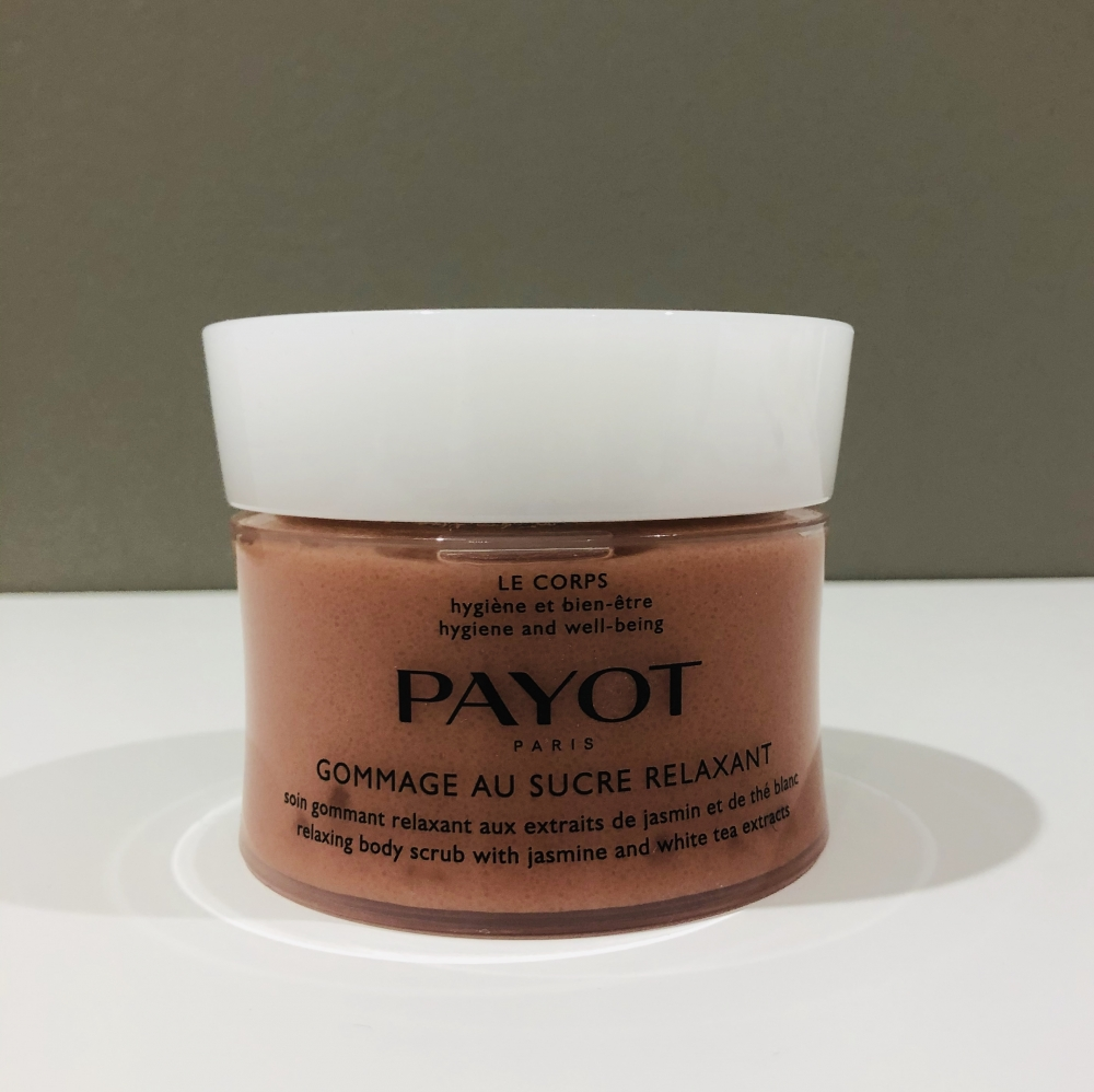 Gommage au sucre relaxant payot