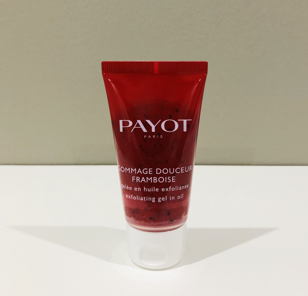 Gommage framboise payot