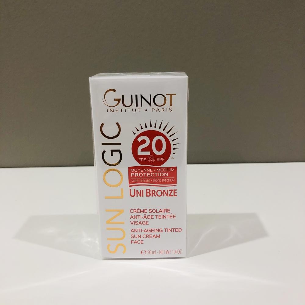 Uni Bronz crème solaire visage SPF 20 Guinot