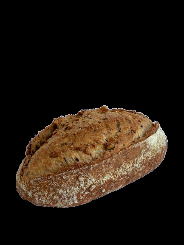 Le pain du coach tranché