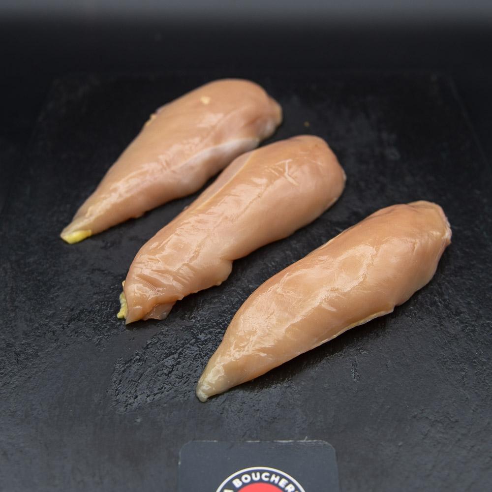 Filet de poulet fermier label rouge