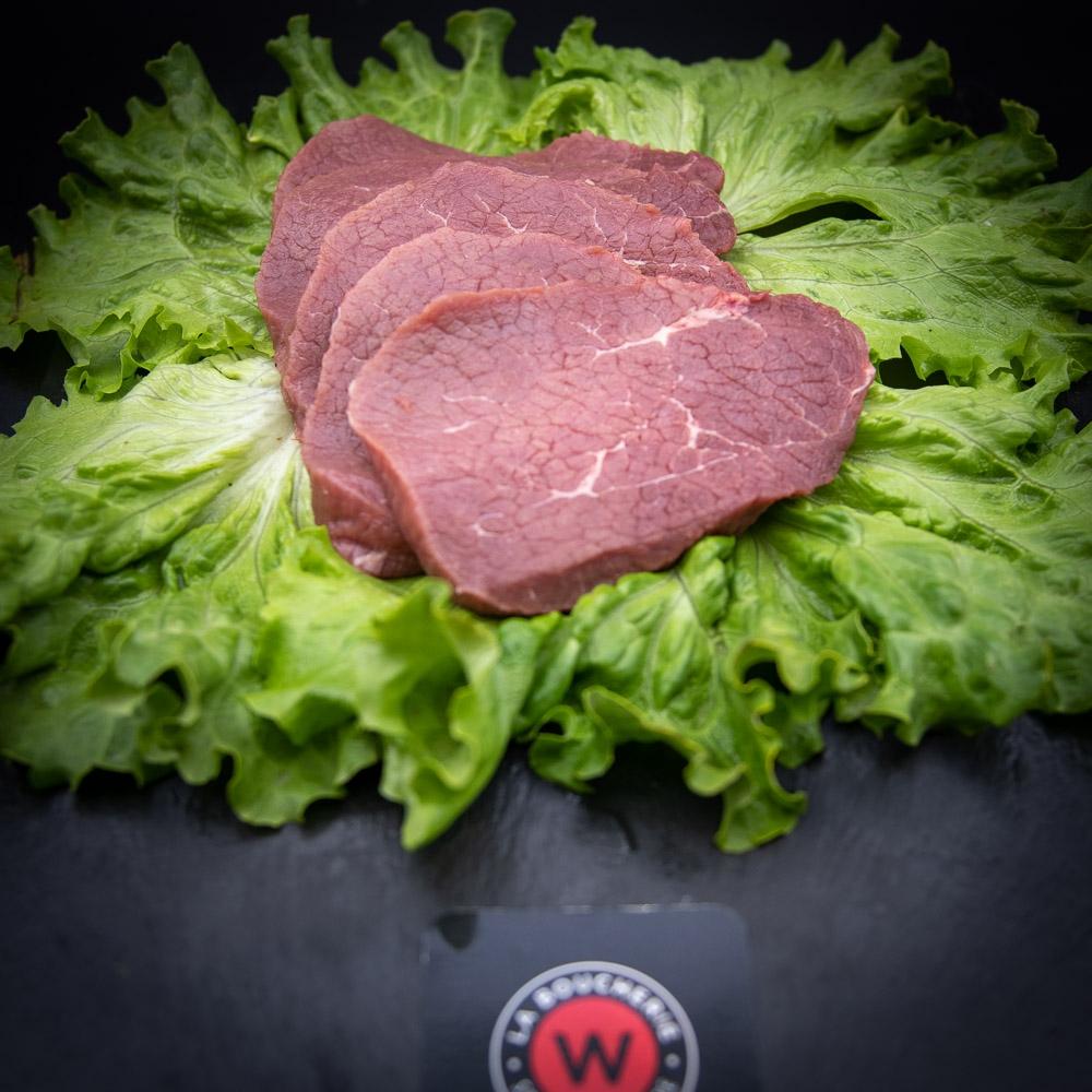 4 steaks 1er choix de boeuf fermier label rouge Aubrac