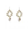 Boucles d'oreilles perles baroques Muse