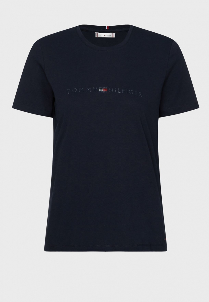 Tee shirt strass Tommy Hilfiger