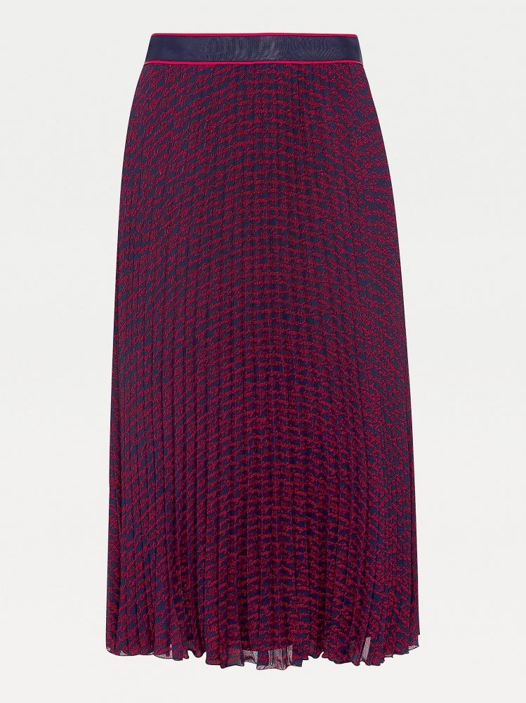 Jupe plissée TOMMY HILFIGER
