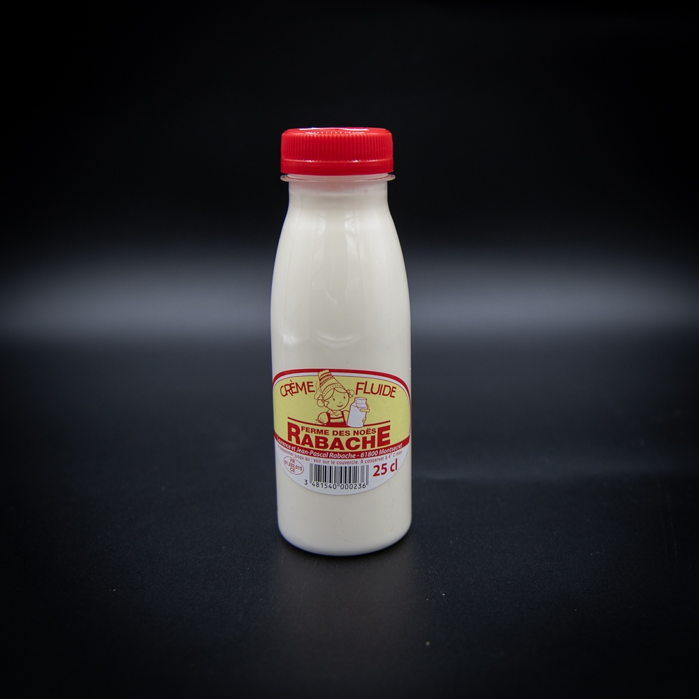 Crème liquide fermière 25cl