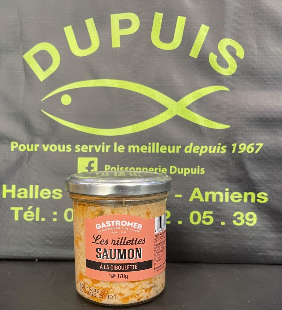 Les rillettes saumon à la ciboulette