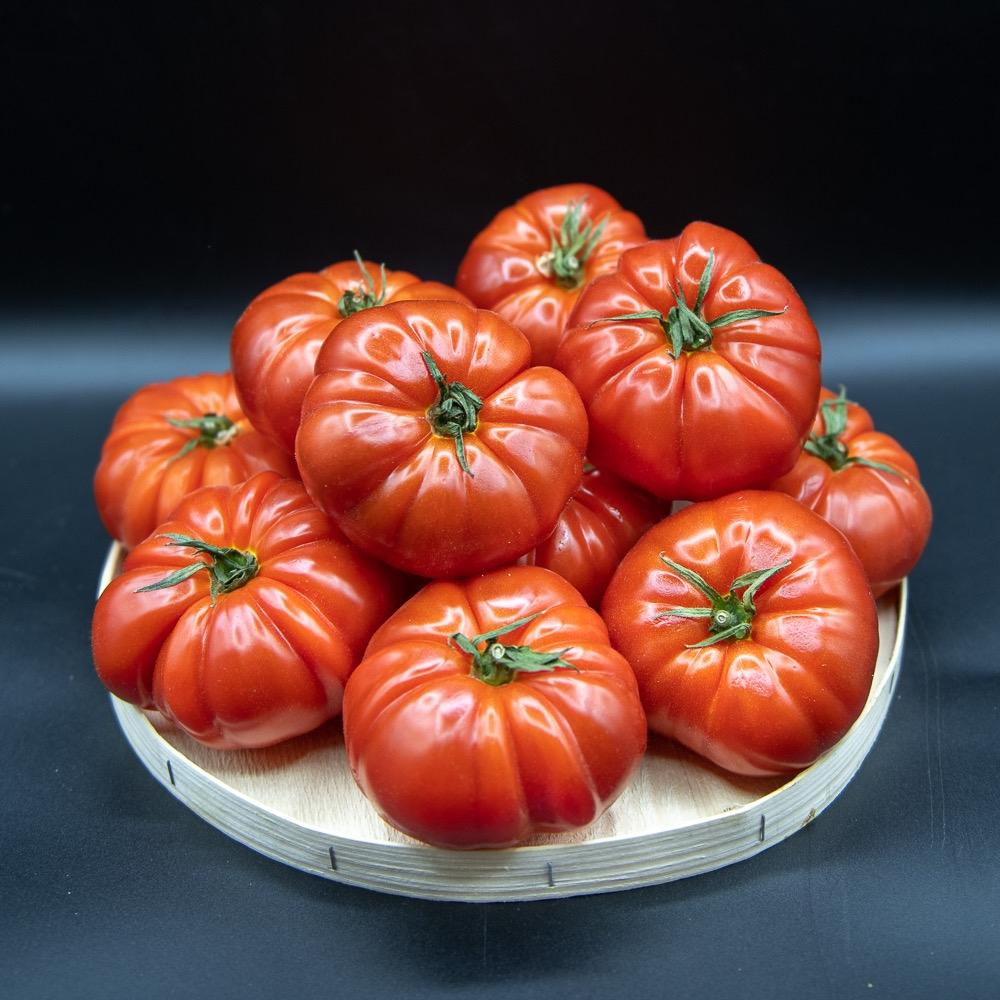 Tomates françaises cœurs de bœuf
