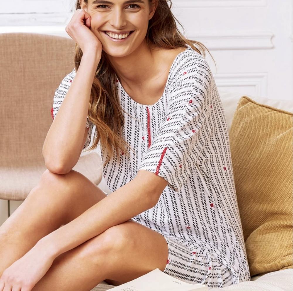 CANAT Lena chemise de nuit en coton