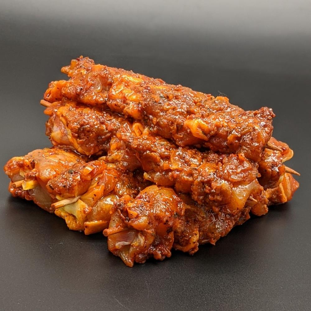 Brochette poulet paprika faite maison x 6 │ 530g