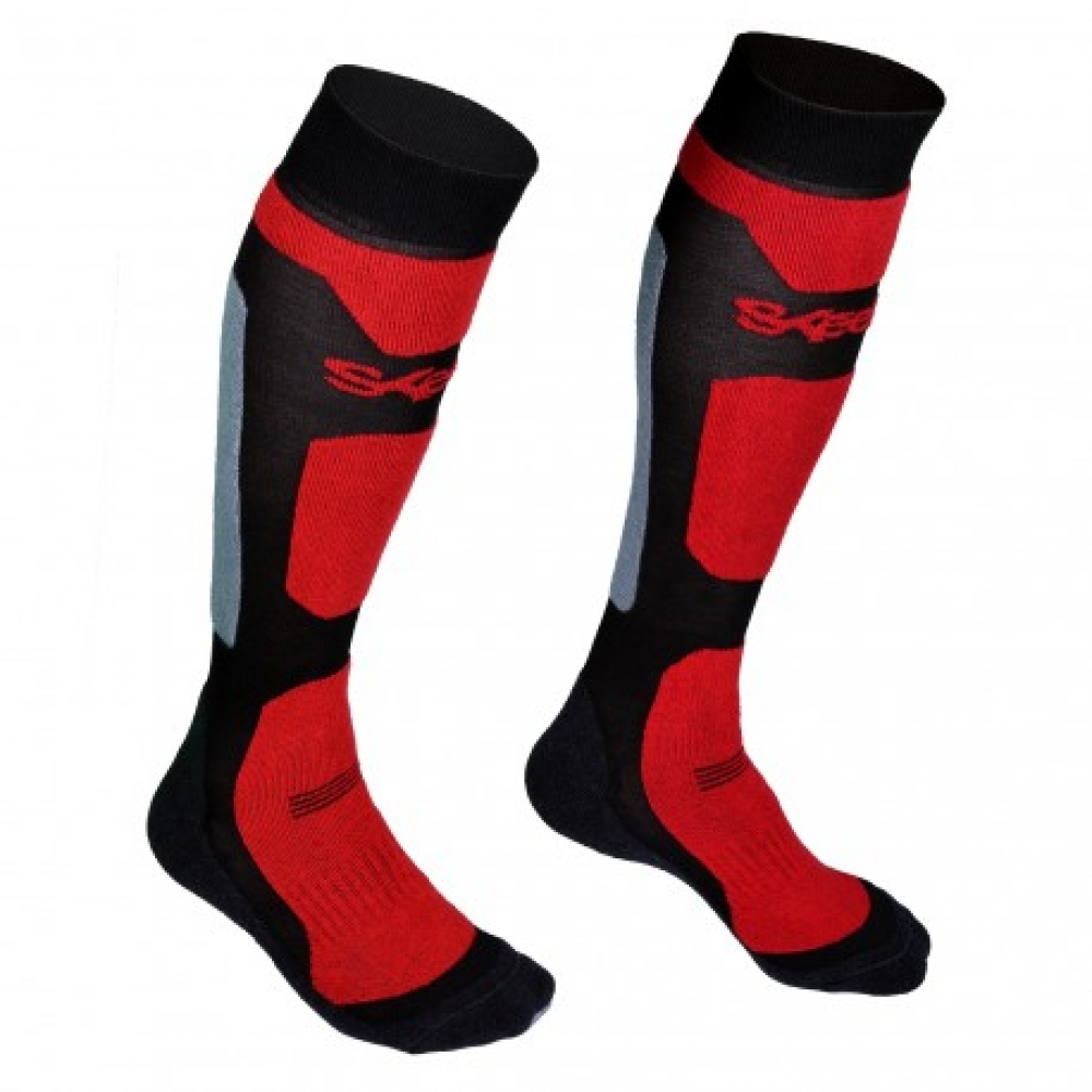 SKEED - Chaussettes thermorégulatrices SPA rouge - Taille 40-42