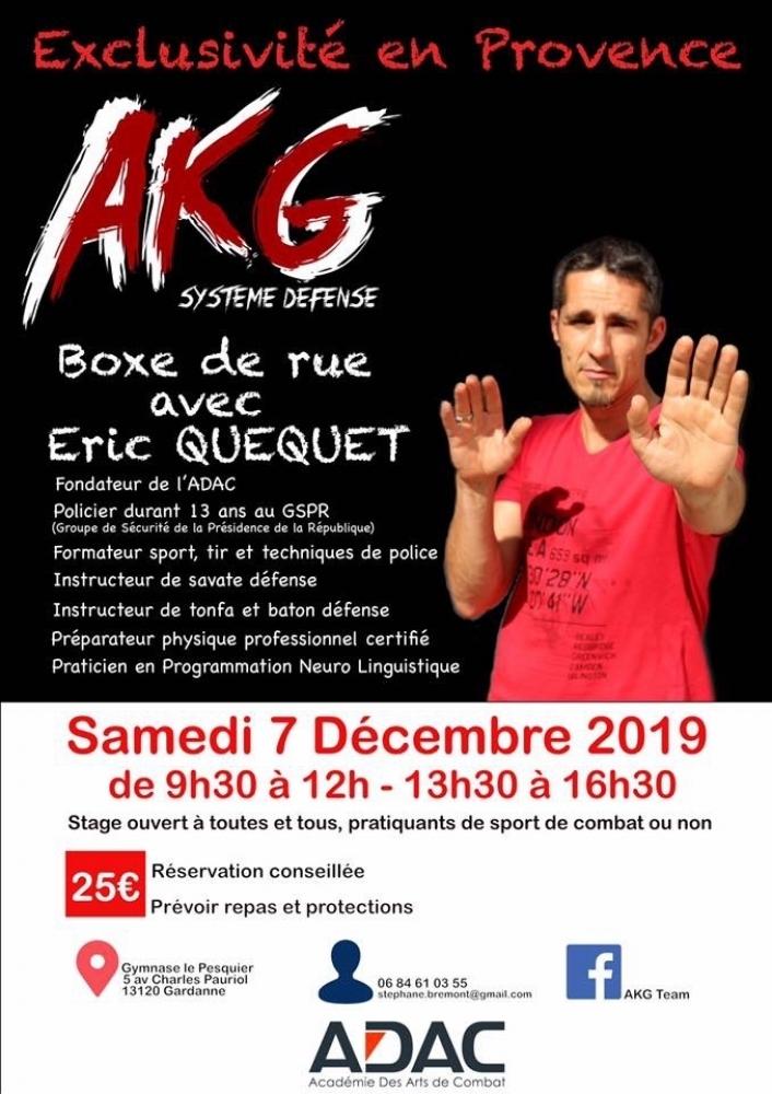 Stage Boxe de Rue