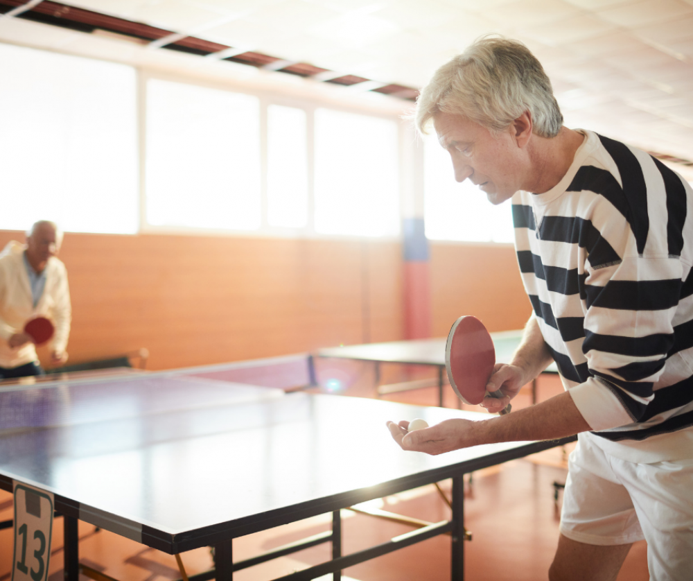 Cours de Tennis de Table - Seniors (+ de 55 ans)