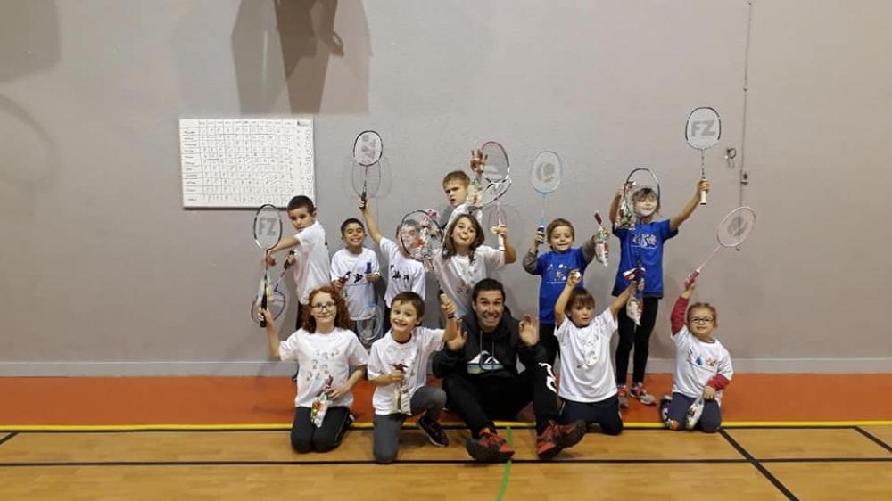 Cours de Badminton  5-11ans (x 25)