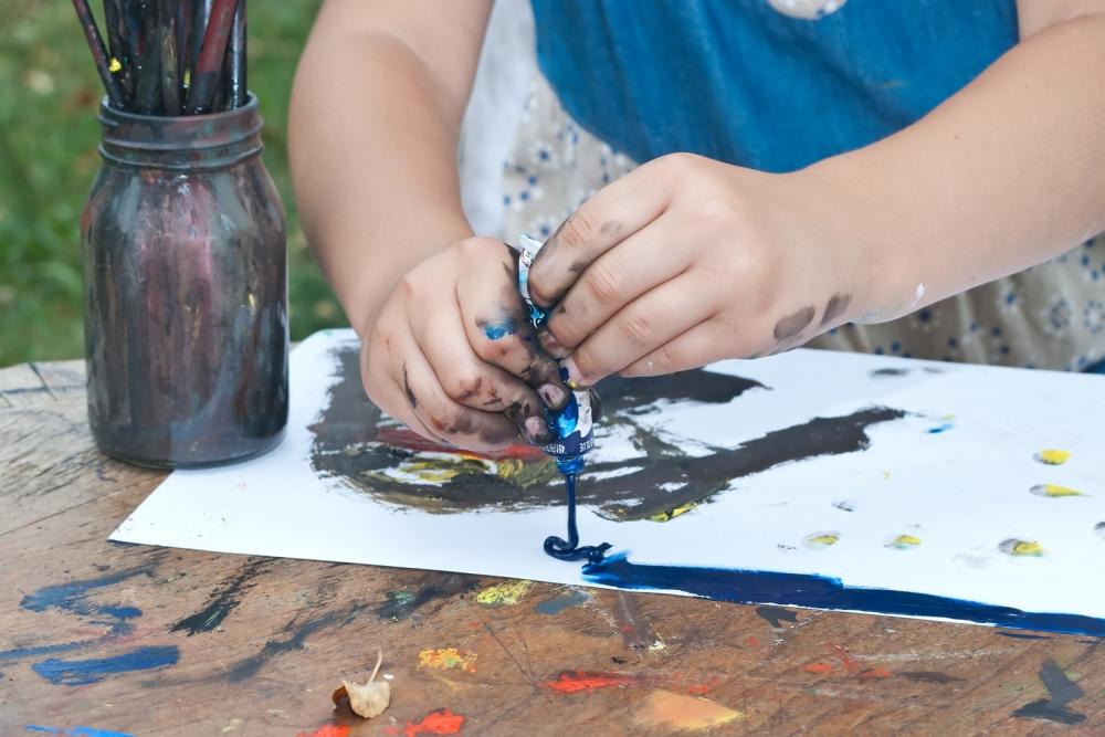 Atelier Pastel + Aquarelle + Acrylique + Encre - Enfants (x16)
