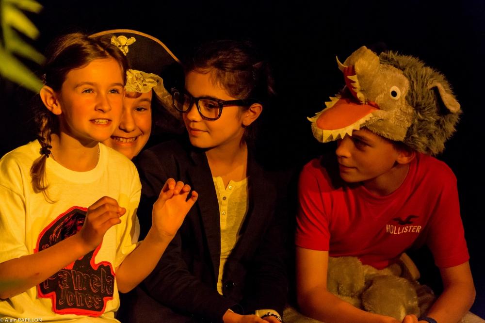 Atelier d'improvisation théâtrale - Enfants 7–11 ans