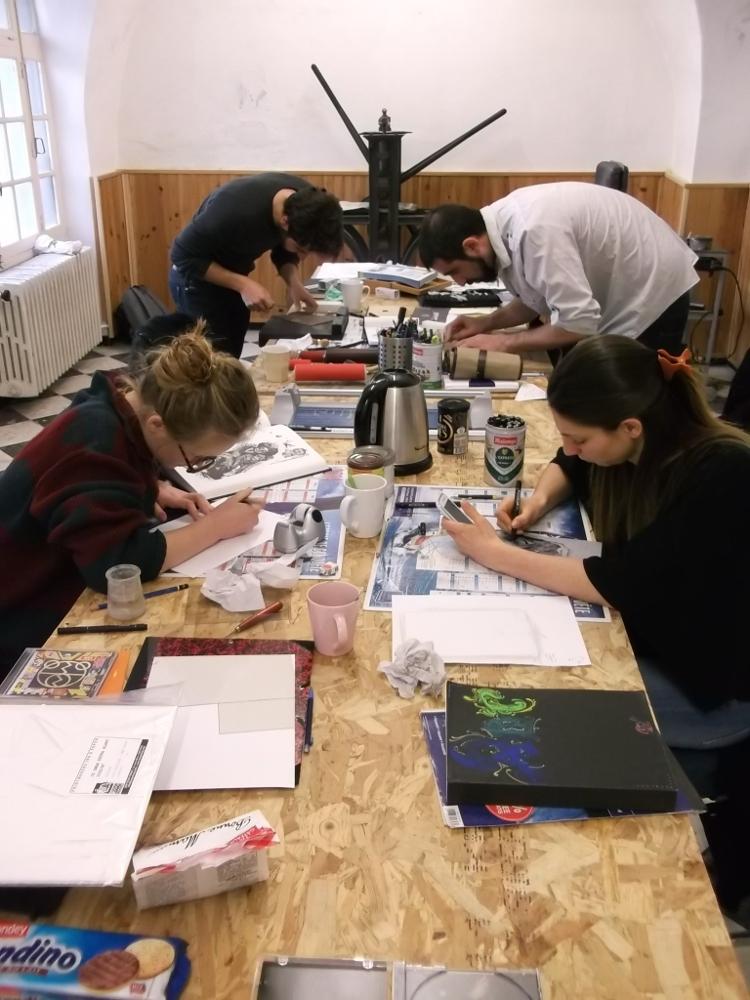 Cours de dessin, illustration, BD et gravure -Ado et Adultes (x10) - Cadenet