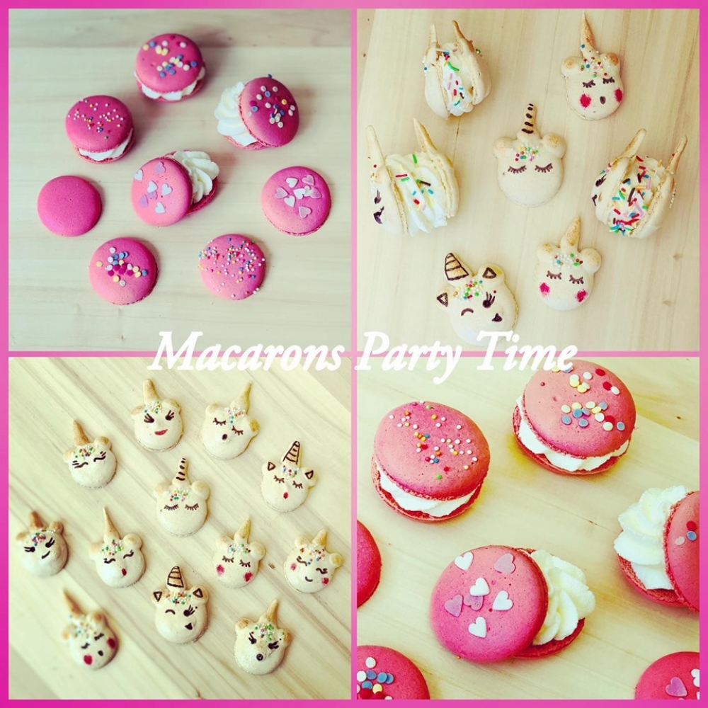 Macarons Licorne Party 4-14ans