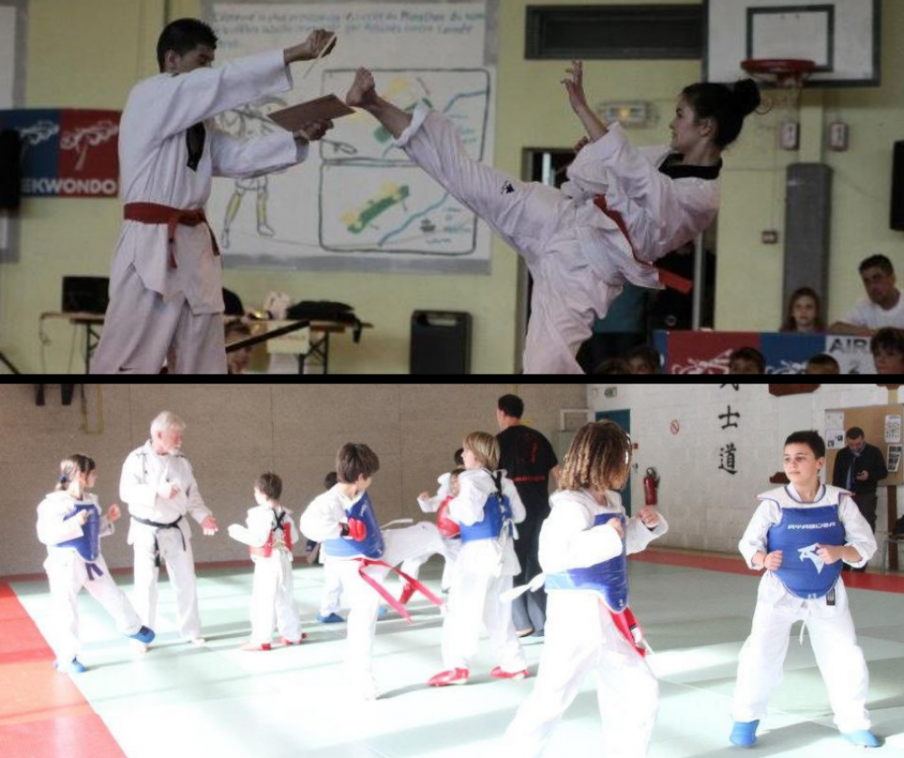 Taekwondo-contact Enfant (et Adultes)